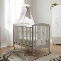 Pali Savana Bianco Tortora βρεφικό κρεβάτι