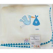 Mora Κουβερτούλα Αγκαλιάς Μπλε-Πελαργός -324
