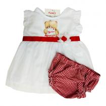 Funky Φορεματάκι Φουφουλίτσα Βοnjour -060139