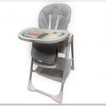 Just Baby Gusto 3 Grey καρέκλα φαγητού +ΔΩΡΟ σετ φαγητού