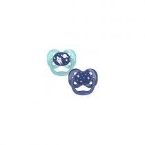 Dr. Brown's Advantage Σιλικόνης Μπλε/Πράσινο 0-6m 2τμχ-PA12002