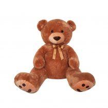 Λούτρινη Αρκούδα Γίγας 130 Εκ. καφέ (#2854-4)