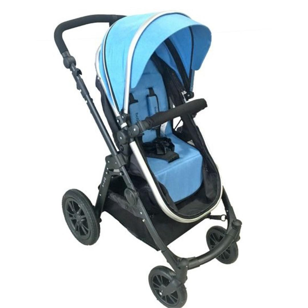 8c4e3f16fdc Just Baby Ghia Μπλε βρεφικό καρότσι 2 σε 1 • e-pelargos.gr eshop