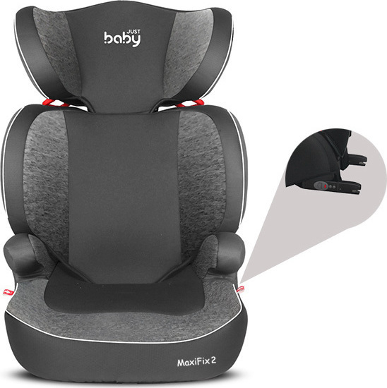 Just Baby MaxiFix V2 Grey κάθισμα αυτοκινήτου 15-36kg ISOFIX