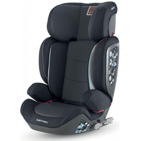 Inglesina Tolomeo I-Fix Black κάθισμα αυτοκινήτου 15-36kg Isofix +ΔΩΡΟ ηλιοπροστασία αυτοκινήτου