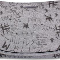 Minene Κάλυμμα Kαροτσιού Grey Print 40357