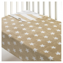 Morven Κουβέρτα Αγκαλιάς Stars 110×80 Μπεζ -Β55