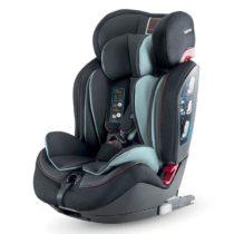 Inglesina Gemino I-Fix 1 2 3 Black Κάθισμα Αυτοκινήτου Isofix 9-36kg