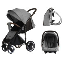 Just Baby Jole 2 in 1 Grey, Πολυκαρότσι