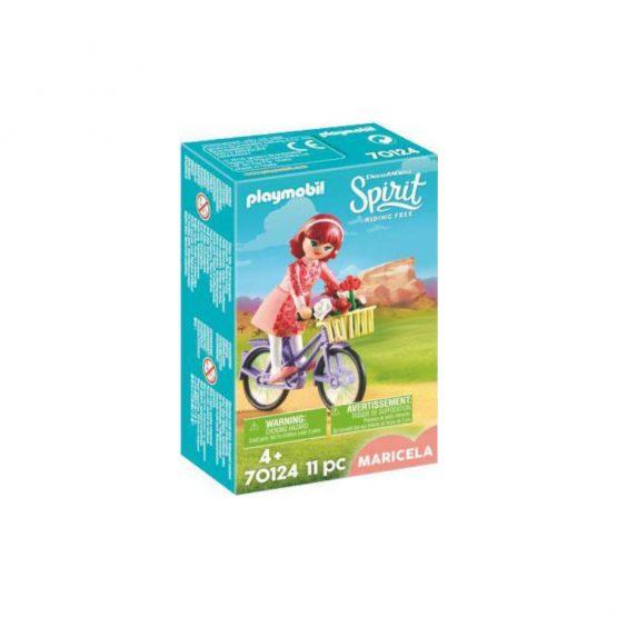 Playmobil Spirit Riding Free: Maricela with Bicycle -70124