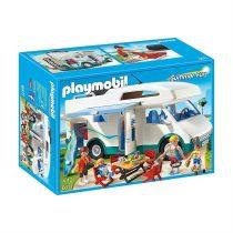 Playmobil Οικογενειακό Τροχόσπιτο