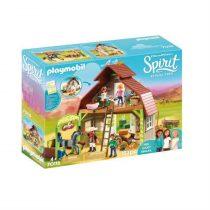 Playmobil Spirit Riding Free: Barn With Lucky, Pru & Abigai (Δωρεάν μεταφορικά-παραλαβής απο Courier) -70118
