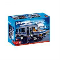 Playmobil City Action: Αστυνομικό Λεωφορείο Οδόφραγμα