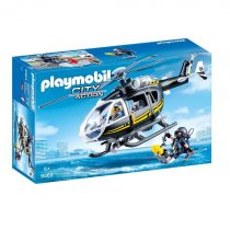 Playmobil City Action: Swat Helicopter -9363