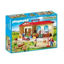 Playmobil Take Along Farm with Carry Handle and Fold-Out Stables