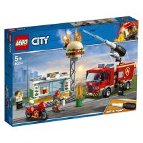Lego City: Burger Bar Fire Rescue 60214