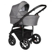 Baby Merc Q9 Grey Πολυκαρότσι 3 σε 1