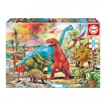 Educa Παζλ 100pc Δεινόσαυροι -13179