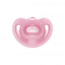 Nuk Sensitive Σιλικόνης Pink 6-18m 1τμχ – 10.736.386