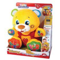 Clementoni Baby Πίπης το Αρκουδάκι – Μιλάει Ελληνικά (1000-63542)