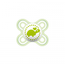 Mam Perfect Start Σιλικόνη Green Turtle 0-2m 1τμχ