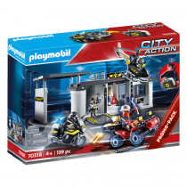 Playmobil City Action: Take Along Tactical Unit Headquarters -70338