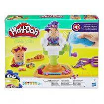 Hasbro Play-Doh Fuzzy Pumper Barber Shop -E9230