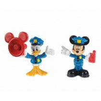 Fisher Price Classic Disney Junior Save the Day Mickey & Donald Toy Set -W5099