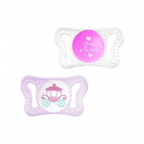 Chicco Physio Micro Σιλικόνης Little Princess 0-2m 2τμχ