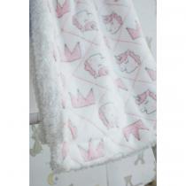 GM Home Unicorn κουβέρτα αγκαλιάς Ροζ – 03094