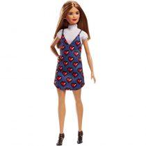 Mattel Barbie Fashionistas Wear Your Heart Κούκλα Μικροκαμωμένη FBR37 / FJF46