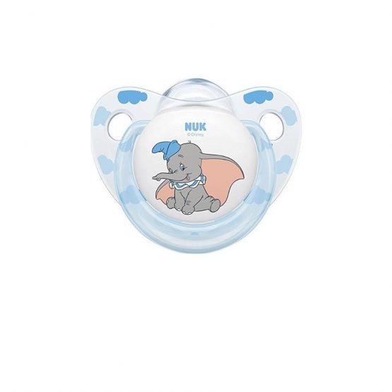 Nuk Trendline Disney Ελεφαντάκι Dumbo Σιλικόνης Γαλάζιο 0-6m 1τμχ