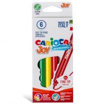 CARIOCA Μαρκαδόροι JOY 6 Χρώματα 40613