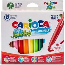 CARIOCA Μαρκαδόροι JUMBO 12 Χρώματα – 40569