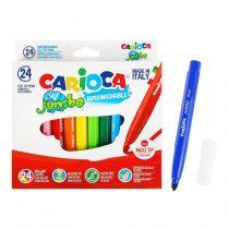 CARIOCA Μαρκαδόροι JUMBO 24 Χρώματα – 40570