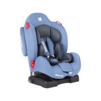 Kikka Boo Senior Light Blue + Isofix Κάθισμα Αυτοκινήτου 9-25 kg