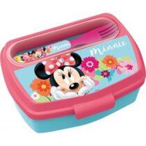 Diakakis imports Minnie Mouse Φαγητοδοχείο Με Μαχαιροπίρουνο -14509
