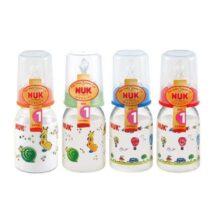 NUK Classic Πλαστικά μπιμπερό (Διαφορα Χρώματα) (125ml) 10743082