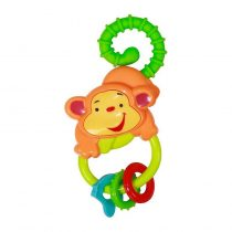 Lorelli Bertoni Κουδουνίστρα Rattle Monkey Orange/Green – 1021067