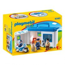 Playmobil 1/2/3: Αστυνομικό Τμήμα Βαλιτσάκι -9382