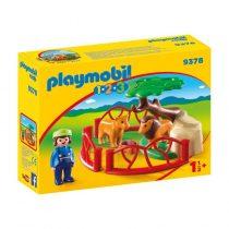 Playmobil 1/2/3: Λιοντάρια Ζωολογικού Κήπου Με Περίφραξη -9378