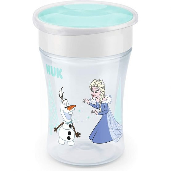 NUK Disney Frozen Magic Cup με καπάκι Εlsa 230ml-10255482