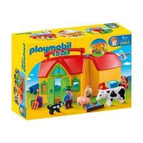 Playmobil 1/2/3: Φάρμα-Βαλιτσάκι -6962