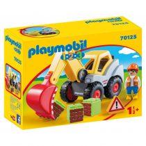 Playmobil 1/2/3: Φορτωτής Εκσκαφέας -70125