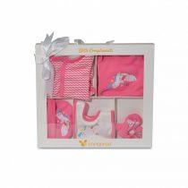 Cangaroo Σετ 5 τεμαχίων για νεογέννητο Τhe One Pink Unicorn -3800146266561