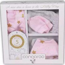 Cangaroo Σετ 5 τεμαχίων για νεογέννητο (0-3μηνών) Newborn Star Girl -3800146266806