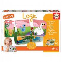 Educa Παζλ Baby Logic 12pcs για 24μηνών+ (18120)