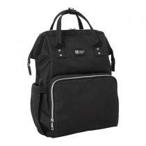 KIKKA BOO Siena Black & Silver Τσάντα-Αλλαξιέρα Πλάτης -31108020034