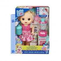 Hasbro Λαμπάδα Baby Alive Magical Mixer Κούκλα Μωράκι Με Αξεσουάρ -E6943