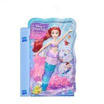 Hasbro Λαμπάδα Disney Princess Rainbow Reveal Ariel, Color Change Doll, The Little Mermaid -F0399